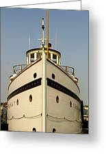 Seattlle's Own Virginia V. The Last Of The Mosquito Fleet Greeting Card by Christine Burdine