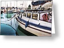 Seaview Study Greeting Card
