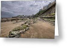 Seaweed Rocks Tenby Greeting Card