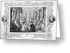 Second Council Of Nicaea Greeting Card