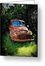 Second Vintage Dodge Truck Greeting Card