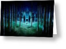 Secret Castle Greeting Card