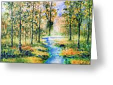 Secret Rivers Greeting Card