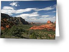 Sedona Arizona Vista Greeting Card