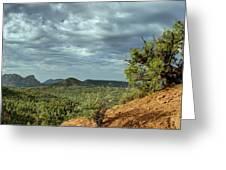Sedona From The Top Of Jordan Trail Greeting Card