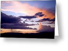 Sedona Summer Storms Greeting Card