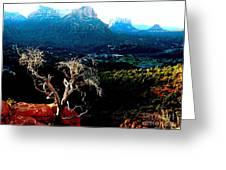 Sedona V Greeting Card