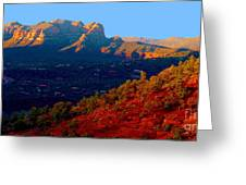 Sedona Vii Greeting Card