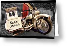 See's Motocycle Greeting Card
