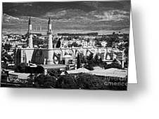 Selimiye Mosque Formerly St Sophia Cathedral In Northern Turkish Controlled Nicosia Cyprus Greeting Card