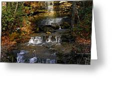 Seneca Water Falls  Greeting Card
