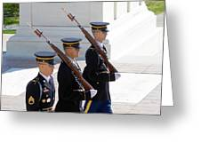 Sentinels At The Tomb Greeting Card