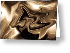 Sepia Art Greeting Card