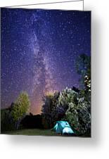 September Night Sky Greeting Card