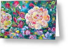 Serendipity Floral Greeting Card