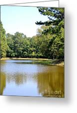 Serene Lake In September Greeting Card