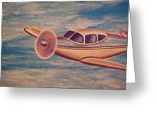 Serene Skies Greeting Card by Thomas Maynard
