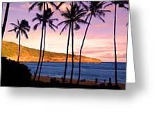 Serene Waimea Bay Greeting Card