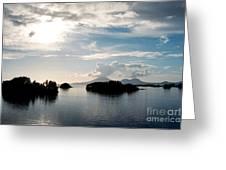 Serene Waters Greeting Card