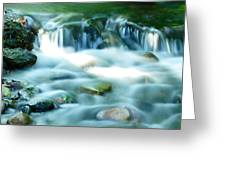 Serenity Greeting Card by Andres LaBrada