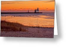Serenity Beach Greeting Card