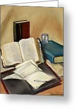 Sermon Preparation Greeting Card