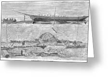 Sevastopol: Diver, 1858 Greeting Card