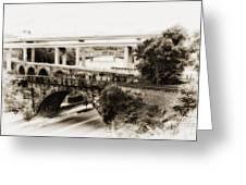 Seven Bridges View Greeting Card