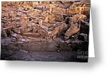 Seven Civilizations Greeting Card
