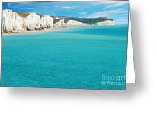 Seven Sisters England Greeting Card by Michael Gray