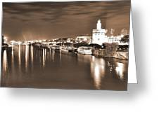 Sevilha By The River Greeting Card