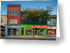 Sewickley 3 Greeting Card