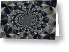 Shades Of Grey Greeting Card