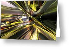 Shadow Abstract Serenity Fx  Greeting Card