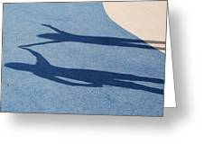 Shadow Friends Greeting Card