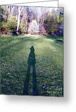 Shadows Long Greeting Card