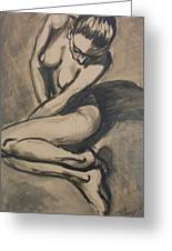 Shadows On The Sand1 - Nudes Gallery Greeting Card