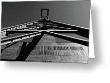 Shaft Tower Greeting Card