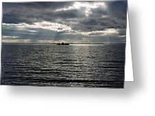 Shag Rock Cavendish Newfoundland Greeting Card