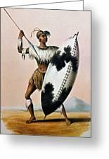 Shaka Zulu (c1787-1828) Greeting Card