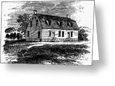 Shaker Church, 1875 Greeting Card