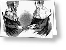Shaker Women, 1875 Greeting Card