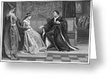 Shakespeare: King Henry V Greeting Card