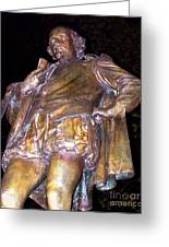 Shakespeare Of Central Park Greeting Card