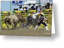 Rodeo Shaking It Up Greeting Card