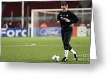 Shaktars 2nd Goalkeeper Greeting Card