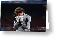 Shaktars Goalkeeper Greeting Card