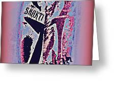 Shakti Sistah 2 Greeting Card
