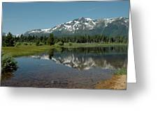 Shallow Water Reflections Greeting Card