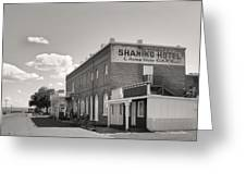 Shaniko Hotel Greeting Card